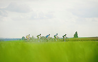 breakaway group<br /> <br /> stage 1<br /> Euro Metropole Tour 2014 (former Franco-Belge)