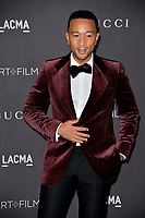 LOS ANGELES, USA. November 03, 2019: John Legend at the LACMA 2019 Art+Film Gala at the LA County Museum of Art.<br /> Picture: Paul Smith/Featureflash