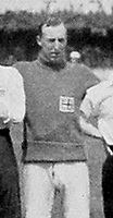 BNPS.co.uk (01202 558833)Pic: Wikipedia/BNPS<br /> <br /> PICTURED: Ronald Brebner who died after receiving a head injury while keeping goal for Leicester Fosse in 1914David Beckham was once famously lampooned for wearing his wife's underwear.But had he plied his trade 100 years before he wouldn't have been alone on the football pitch in wearing knickers, according to a fascinating document that has come to light.The four page itinerary was given to England footballers ahead of a match in 1912.In it was the instruction for all players to bring 'dark knickers' to wear during the game.
