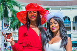 HALLANDALE BEACH, FLORIDA - APRIL 2:  Scenes from around the track on Florida Derby Day at Gulfstream Park on April 2, 2016 in Hallandale Beach, Florida (photo by Douglas DeFelice/Eclipse Sportswire/Getty Images)
