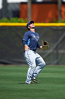 Tampa Bay Rays Zacrey Law (11) during a minor league Spring Training intrasquad game on April 1, 2016 at Charlotte Sports Park in Port Charlotte, Florida.  (Mike Janes/Four Seam Images)