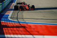 24th September 2021; Sochi, Russia; F1 Grand Prix of Russia free practise sessions;  55 CarlSainz ESP, Scuderia Ferrari Mission Winnow, F1 Grand Prix of Russia at Sochi Autodrom