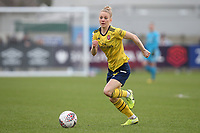 Leonie Maier of Arsenal during West Ham United Women vs Arsenal Women, Women's FA Cup Football at Rush Green Stadium on 26th January 2020