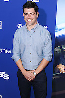 """HOLLYWOOD, LOS ANGELES, CA, USA - AUGUST 07: Max Greenfield at the Los Angeles Premiere Of 20th Century Fox's """"Let's Be Cops"""" held at ArcLight Cinemas Cinerama Dome on August 7, 2014 in Hollywood, Los Angeles, California, United States. (Photo by Xavier Collin/Celebrity Monitor)"""