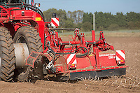 Haarvesting Maris Piper potatoes with a Grimme Varitron 200 - Lincolnshire, October