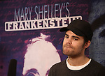 attends the Meet & Greet the cast of 'Mary Shelley's Frankenstein' at the Shelter Studios on December 14, 2017 in New York City.