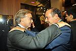 DIEGO DELLA VALLE CON CLEMENTE MIMUN<br /> APERTURA STORE FAY A FONTANELLA BORGHESE ROMA 10/2008