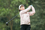 Shi Yuting of China tees off the 14th hole during Round 2 of the World Ladies Championship 2016 on 11 March 2016 at Mission Hills Olazabal Golf Course in Dongguan, China. Photo by Victor Fraile / Power Sport Images