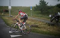 Kris Boeckmans (BEL/Lotto-Soudal) chasing back<br /> <br /> stage 3: Buchten - Buchten (NLD/210km)<br /> 30th Ster ZLM Toer 2016