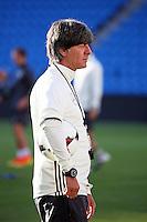 Bundestrainer Joachim Loew (Deutschland Germany)- Abschlusstraining Deutschland, Ullevaal Stadium Oslo, WM-Qualifikation
