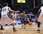 In a battle of cross town rivals, the University of New Orleans Privateers defeated the Tulane Green Wave 51-50 in Fogelman Arena.