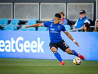 SAN JOSE, CA - SEPTEMBER 4: Luciano Abecasis during a game between Colorado Rapids and San Jose Earthquakes at PayPal Park on September 4, 2021 in San Jose, California.