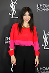 Cristina Brondo attends L'Homme from Yves Saint Laurent event in Madrid, Spain. February 29, 2016. (ALTERPHOTOS/Victor Blanco)