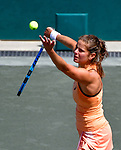 Julia Goerges (GER) defeated Daria Kasatkina (RUS) 6-4, 6-3