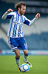 GLASGOW, SCOTLAND - JANUARY 28:  Kilmarnock's James Dayton during the Scottish Communities Cup Semi Final match between Ayr United and Kilmarnock at Hampden Park on January 28, 2012 in Glasgow, United Kingdom. (Photo by Rob Casey/Getty Images).