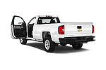 Car images of 2018 Chevrolet Silverado 1500 1WT Regular Cab Long Box 3 Door Pick-up Doors