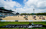 April 25, 2021: Scenes from the Stadium Jumping Finals without fans, and only volunteers and connections to competitors, at the Kentucky Horse Park in Lexington, Kentucky. Scott Serio/Eclipse Sportswire/CSM