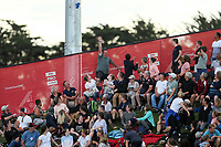 Tee shirt gun misses its mark during the Pro League Hockey match between the Blacksticks men and the Argentina, Nga Punawai, Christchurch, New Zealand, Friday 28 February 2020. Photo: Simon Watts/www.bwmedia.co.nz