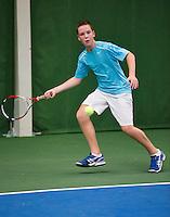 01-12-13,Netherlands, Almere,  National Tennis Center, Tennis, Winter Youth Circuit, Stijn Janssen   <br /> Photo: Henk Koster