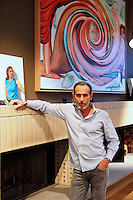American painter, printmaker, and stage designer, David Salle