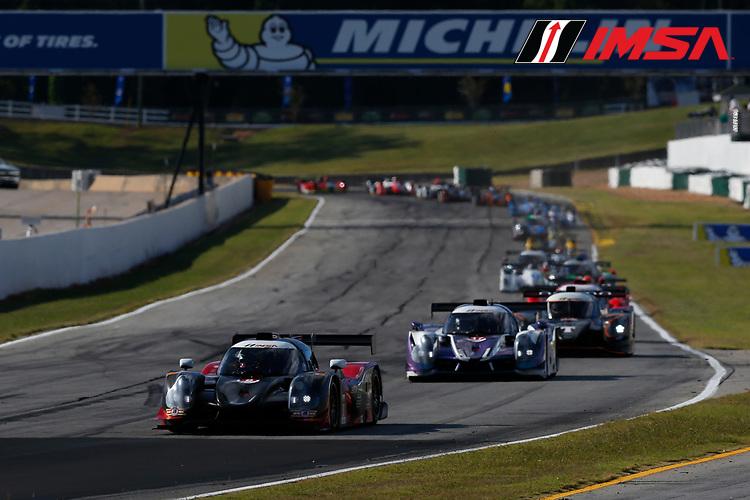 IMSA Prototype Challenge Presented by Mazda<br /> Road Atlanta<br /> Road Atlanta, Braselton GA<br /> Thursday 5 October 2017<br /> 8, Kenton Koch, LMP3, Ligier JS P3<br /> World Copyright: Jake Galstad<br /> LAT Images