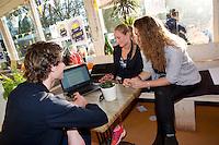 Amsterdam, Netherlands, 20 april, 2016, Joy, volunteers <br /> Photo: Henk Koster/tennisimages.com