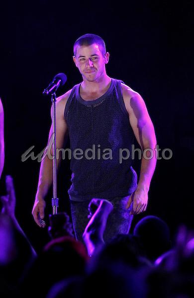 30 May 2015 - Las Vegas, Nevada -  Nick Jonas.  iHeartRadio Summer Pool Party at Caesars Palace.  Photo Credit: MJT/AdMedia