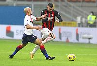 Milano 07-02-2021<br /> Stadio Giuseppe Meazza<br /> Serie A  Tim 2020/21<br /> Milan - Crotone nella foto:    Theo Hernandez                                                      <br /> Antonio Saia Kines Milano