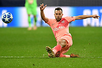 Arthur of Barcelona in action during the Uefa Champions League 2018/2019 Group B football match between Internazionale and Barcelona in San Siro stadium, Milano, November, 06, 2018 <br />  Foto Andrea Staccioli / Insidefoto