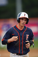 February 22 2009: Gary Brown of the CSUF Titans during game against the TCU Horned Frogs at Goodwin Field in Fullerton,CA.  Photo by Larry Goren/Four Seam Images