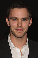 PLAYA VISTA, CA - NOVEMBER 19: Nicholas Hoult at the 2015 Jaguar F-TYPE Coupe Global Debut held at Raleigh Studios on November 19, 2013 in Playa Vista, California. (Photo by Xavier Collin/Celebrity Monitor)