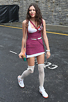 23/9/2010. Arthurs day. Eliza Doolittle is pictured arriving at the Guinness Store House Dublin raise their glasses for Arthurs Day. Picture James Horan/Collins