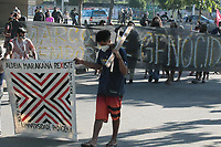 28/06/2021 - INDIOS PROTESTAM NO RIO DE JANEIRO