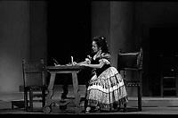 Le 3 Novembre 1972. Vue de la représentation du Barbier de Séville au théâtre du Capitole.