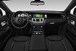 Stock photo of straight dashboard view of 2018 Rollsroyce Ghost - 4 Door Sedan Dashboard