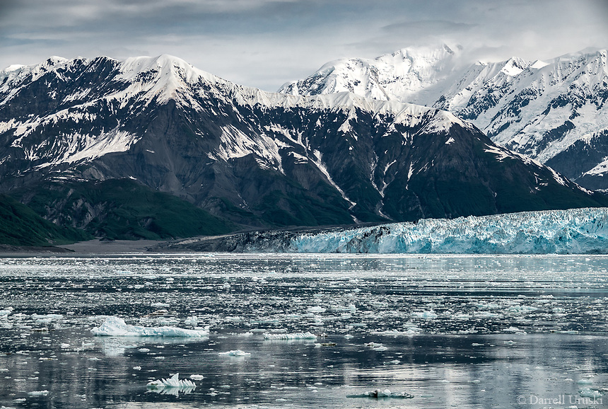 Hubbard Glacier is a glacier located in eastern Alaska, and part of Yukon, Canada. The glacier is named after Gardiner Hubbard. <br /> This glacier is certainly another beautiful example of the beauty of God's creation.