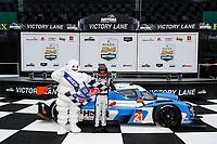 #21: Muehlner Motorsports America Duqueine M30-D08, P3-1: Moritz Kranz, Laurents Hoerr, podium, winner