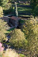 Europe/France/Auvergne/43/Haute-Loire/Saint-Arcons-d'Allier: détail d'un moulin à eau sur l'Allier