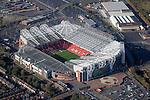 Aerial: Manchester United FC, Old Trafford