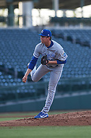 AZL Royals starting pitcher Luis Barroso (31) during an Arizona League game against the AZL Cubs 1 on June 30, 2019 at Sloan Park in Mesa, Arizona. AZL Royals defeated the AZL Cubs 1 9-5. (Zachary Lucy/Four Seam Images)