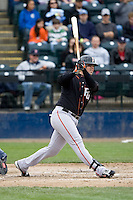 June 8, 2008: Fresno Grizzlies' Brett Harper at-bat during a Pacific Coast League game against the Tacoma Rainiers at Cheney Stadium in Tacoma, Washington.
