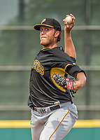 22 March 2015: Pittsburgh Pirates pitcher John Holdzkom on the mound during a Spring Training game against the Houston Astros at Osceola County Stadium in Kissimmee, Florida. The Astros defeated the Pirates 14-2 in Grapefruit League play. Mandatory Credit: Ed Wolfstein Photo *** RAW (NEF) Image File Available ***