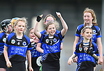 Kilkee/Kilbaha players celebrate their win over Bridgetown during their Schools Division 6 final at Cusack Park. Photograph by John Kelly