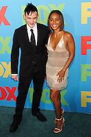 NEW YORK CITY, NY, USA - MAY 12: Robin Lord Taylor, Jada Pinkett Smith at the FOX 2014 Programming Presentation held at the FOX Fanfront on May 12, 2014 in New York City, New York, United States. (Photo by Celebrity Monitor)