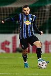 13.01.2021, xtgx, Fussball 3. Liga, VfB Luebeck - SV Waldhof Mannheim emspor, v.l. Arianit Ferati (Mannheim, 10) Freisteller, Einzelbild, Ganzkoerper, single frame <br /> <br /> (DFL/DFB REGULATIONS PROHIBIT ANY USE OF PHOTOGRAPHS as IMAGE SEQUENCES and/or QUASI-VIDEO)<br /> <br /> Foto © PIX-Sportfotos *** Foto ist honorarpflichtig! *** Auf Anfrage in hoeherer Qualitaet/Aufloesung. Belegexemplar erbeten. Veroeffentlichung ausschliesslich fuer journalistisch-publizistische Zwecke. For editorial use only.