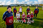 Members of the Causeway Camogie Club launch their April fundraiser. The idea is to run, walk or cycle 5km, nominate three friends to do the same and donate €5 to the club. Front left: Ernest Hanley (Chairman). Kneeling l to r: Paige and Shannon Drury, Amy and Sophie Conway. Back l to r: Teresa Reil O'Connor, Sinead Leen, Alanah Whelan and Anne Kearney,