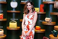 Eugenia Silva present new Reliquiae flagship shop in Madrid.