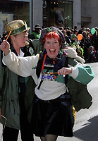 St-Patrick<br />  parade  circa 2003<br /> <br /> FILE PHOTO : Agence quebec Presse