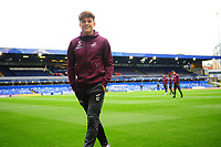 Swansea City's Daniel James walks the pitch prior to the Sky Bet Championship match between Birmingham City and Swansea City at St Andrew's Trillion Trophy Stadium on August 17, 2018 in Birmingham, England.