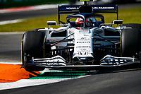 4th September 2020; Autodromo Nazionale Monza, Monza, Italy ; Formula 1 Grand Prix of Italy, free practise sessions;  10 Pierre Gasly FRA, Scuderia AlphaTauri Honda